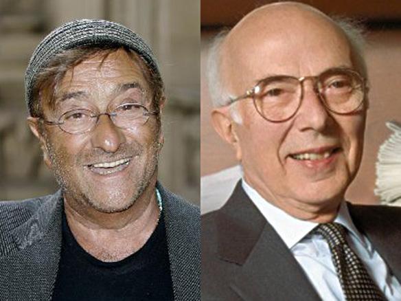 Lucio Dalla e Renato Dulbecco